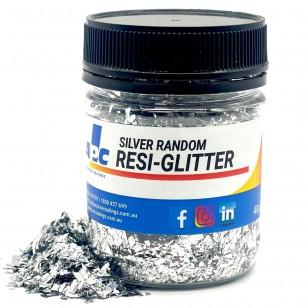 Silver Random 40g - Resi Glitter