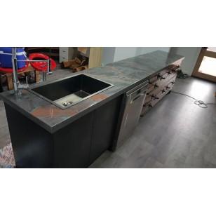 9M2 Metallic Bench Top Coating Kit
