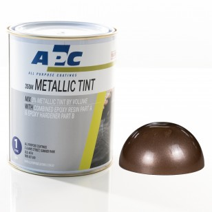 Bronze Metallic Epoxy Tint 1L