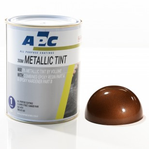 Copper Metallic Epoxy Tint 1L