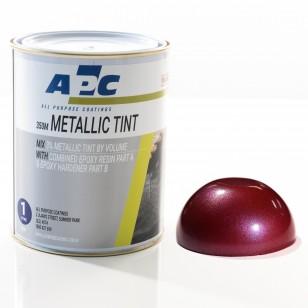 Crimson Red Metallic Epoxy Tint 1L
