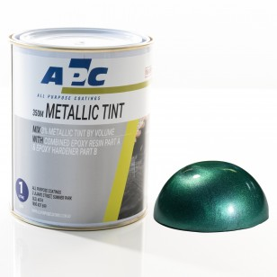 Emerald Metallic Epoxy Tint 1L