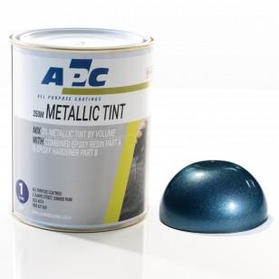 Teal Metallic Epoxy Tint 1L