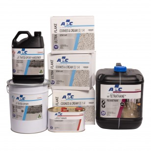 Ultra Flake Coating Kit 36m2 - Essential Finish