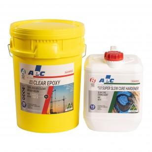 EPO100SSC Super Slow Cure Clear Epoxy Coating Kit 30L