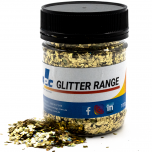 Gold Diamond Holographic 100g - Resi Glitter