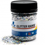 Silver Diamond Holographic 100g - Resi Glitter