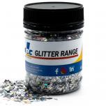 Silver Random Holographic 60g - Resi Glitter