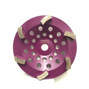 25 Grit Purple 7' 180mm x 6 Curved Seg