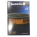 Sundstrom A2 Filter Cartridge 4pk