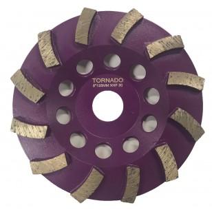 30 Grit Purple 5' 125mm x 12 Seg