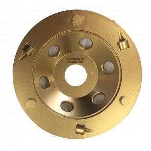5' 125mm x 3 PCD + TCT Seg Cup Wheel