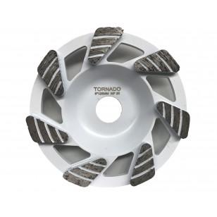 25 Grit White 5' 125mm x 6 Tri Seg