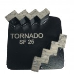 9pk 25 Grit Black Step Double Seg