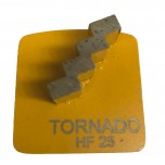 9pk 25 Grit Yellow Step Single Seg