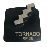 9pk 25 Grit Black Step Single Seg