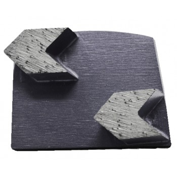 9pk 25 Grit Black Arrow Double Seg