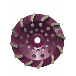 30 Grit Purple 7' 180mm x 12 Seg