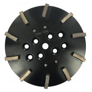 30 Grit Black 10' 250mm x 10 Seg