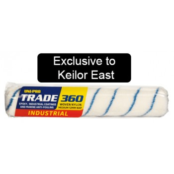 Trade Roller Cover Blue Stripe 360mm