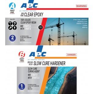 EPO100SCC™ Slow Cure Clear Epoxy Coating Kit 3L