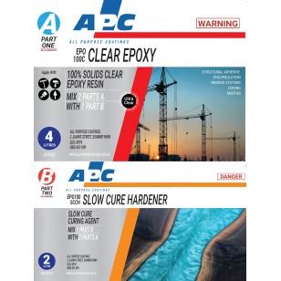EPO100SCC™ Slow Cure Clear Epoxy Coating Kit 6L