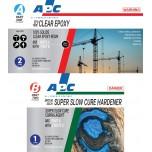 Super Slow Cure Clear Epoxy Coating Kit 3L
