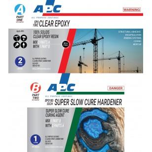 EPO100SSC Super Slow Cure Clear Epoxy Coating Kit 3L