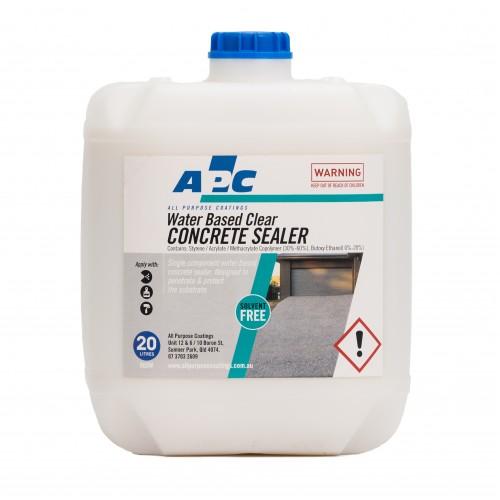Water Based Concrete Sealer 20L - Epoxy Supplies