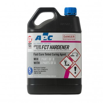 Fast Cure Tinted Hardener 5L