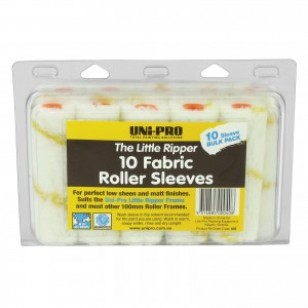 Fabric Roller Cover 10 Pack 100mm